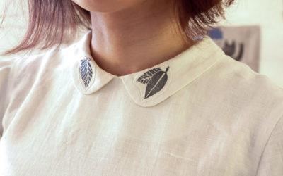 Olga: timbri in linocut e stampa a mano