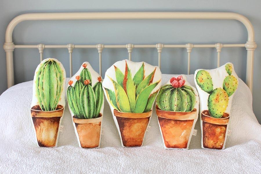 cuscini cactus