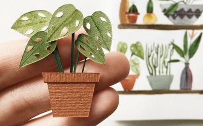 Le piante di carta di Tania Lissova